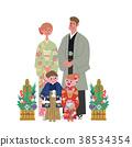 가족, 패밀리, 기모노 38534354