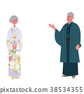 family, kimono, person 38534355