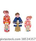 ภาพประกอบครอบครัวกิโมโน 38534357