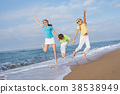 person, playing, beach 38538949