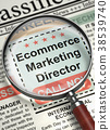 Ecommerce Marketing Director Wanted. 3D. 38539740