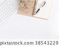 平鋪式構圖 桌子 辦公桌 38543229