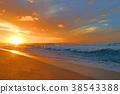 하와이의 일몰 38543388