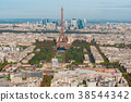 Eiffel Tower and Paris cityscape 38544342