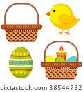 basket, egg, chick 38544732