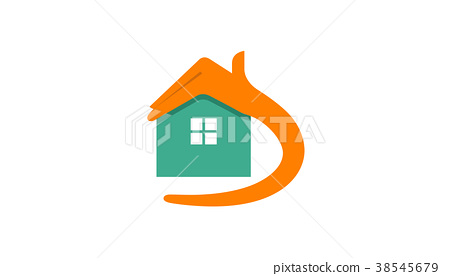 Creative Household Hand Caring Unique Modern Logo  38545679