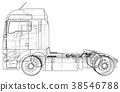 truck, cargo, car 38546788