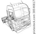 truck, cargo, car 38546817