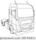 truck, cargo, car 38546831
