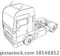 truck, cargo, car 38546852