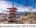 Japan in Spring Season 38547006