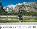 female travel mountain 38550186