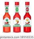 tabasco, sauce, vector 38550335