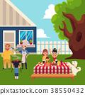 bbq, picnic, family 38550432