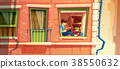 Vector illustration of girl reading the book on 38550632
