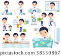 Store staff Blue uniform men_housekeeping 38550867