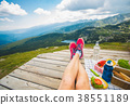 Legs of traveler girl 38551189