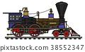 locomotive, vintage, steam 38552347