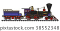 locomotive, vintage, steam 38552348
