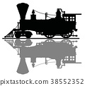 locomotive, vintage, steam 38552352