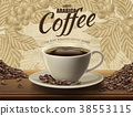 Arabica coffee ads 38553115