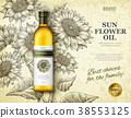 Sunflower oil ads 38553125