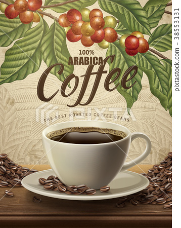 Arabica coffee ads 38553131