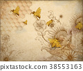 Honey bees and wildflowers 38553163