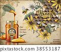 Natural honey ads 38553187