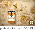 食物 食品 蜂蜜 38553193