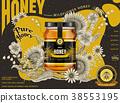 食物 食品 蜂蜜 38553195