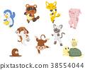 動物 高興 快樂 38554044