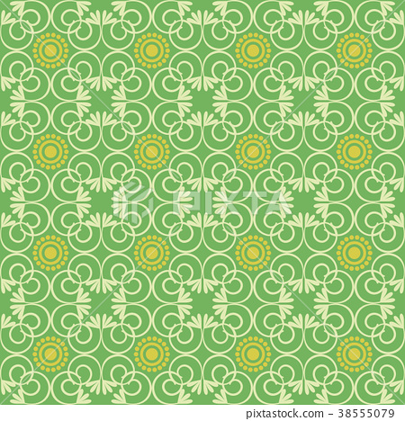 elegant seamless Victorian wallpaper background
