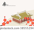 Vector Chinese Traditional Template Architecture 38555294
