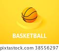 basketball, isolated, basket 38556297
