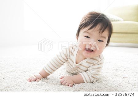 4810f7ce8fb3 7 month old baby - Stock Photo  38556774  - PIXTA