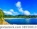해변, 풍경, 바다 38556813