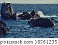 muroto peninsula, rocky, blue water 38561235