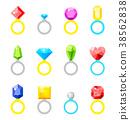 background diamond icon 38562838