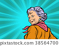 gray haired grandmother a good look 38564700