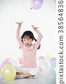 풍선과 어린이 38564836