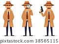 detective, character, coat 38565115