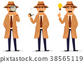 detective, character, coat 38565119