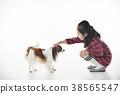 강아지, 개, 어린이 38565547