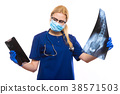 xray, scrubs, scan 38571503