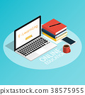 isometric computer online e-learning 38575955