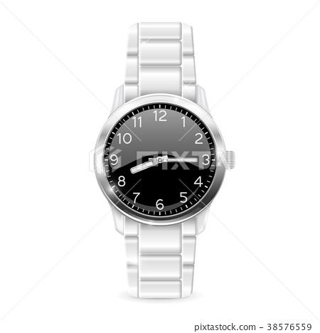 Men watch with metal bracelet 38576559