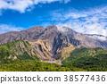 Sakurajima Volcano Peak 38577436