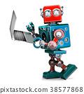 laptop robot notebook 38577868