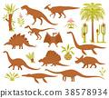 dino, plant, dinosaur 38578934